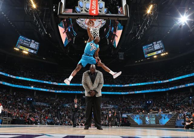 扣籃大賽:迪亞洛飛躍奧尼爾奪冠