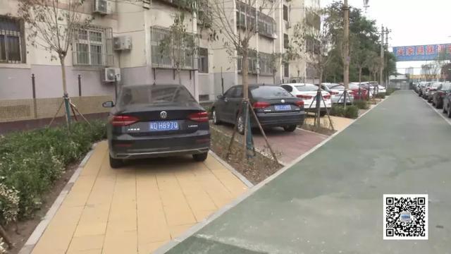 邯郸油漆厂路新建45个停车位