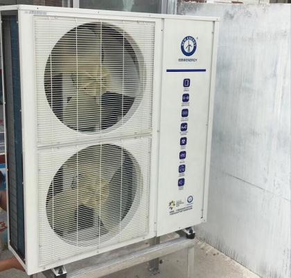 河北保定一用户采用纽恩泰空气能