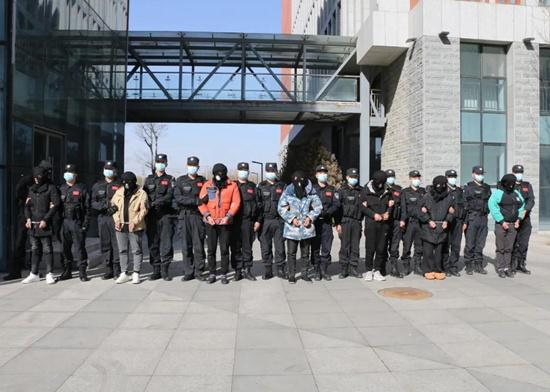 冀南新区公安分局速破系列帮助信息网络犯罪活动案、抓获犯罪嫌疑人7名