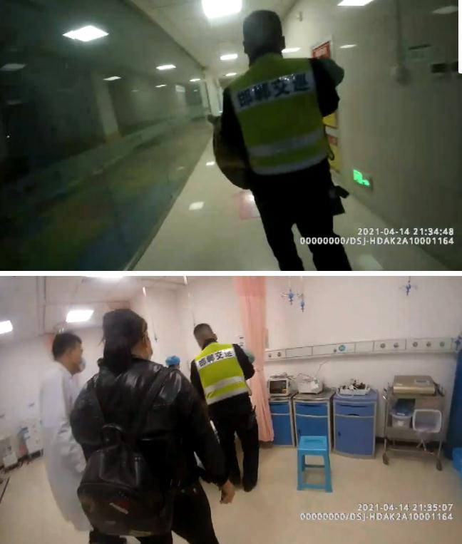 """""""把孩子给我,你跟上!"""" 邯郸交巡警护送患病幼童紧急就医"""