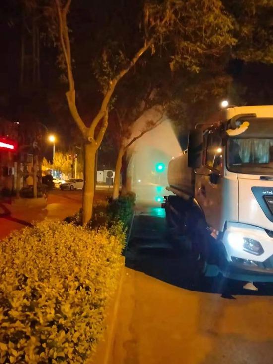 提醒!邯郸城区行道树夜间喷洒农药!