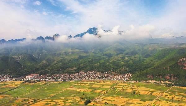 邯鄲韓王九寨景區改造提升工作基本完成