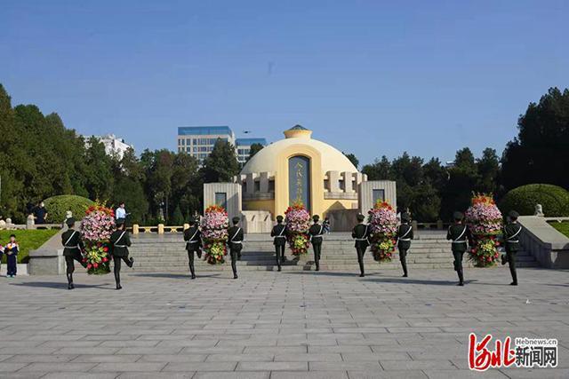 河北邯鄲舉行烈士紀念日公祭活動